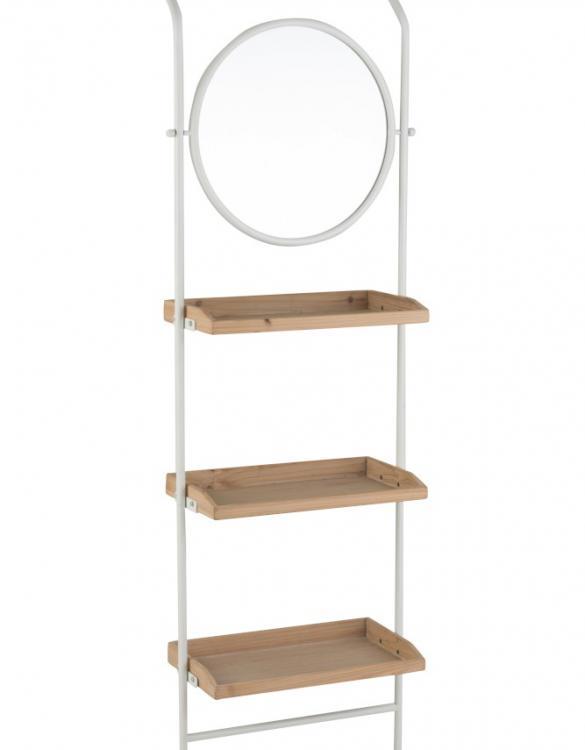 étagère miroir