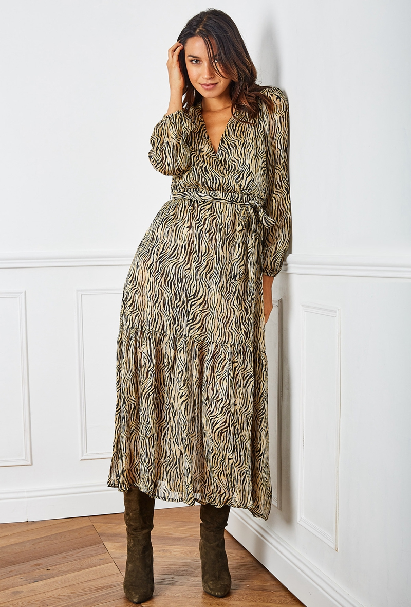 last-queen-robe-longue-vaporeuse-cache-cur-a-imprime-fleuri-lurex4-bronze-1