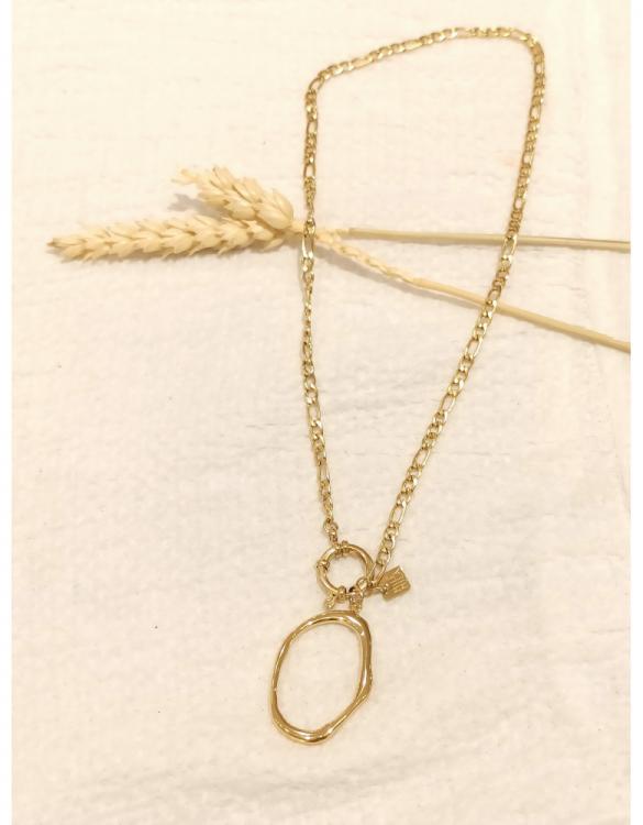 collier-oval-doré-